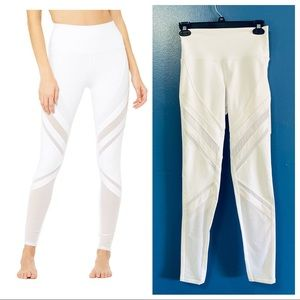 NWT Alo Yoga high waist epic legging white small